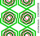 vector seamless pattern from... | Shutterstock .eps vector #1362828908