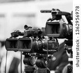 camera recording event   Shutterstock . vector #1362956978