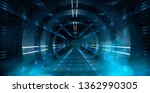 Abstract Tunnel  Corridor With...