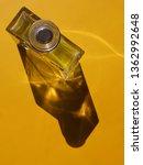glass bottle or jar. abstract... | Shutterstock . vector #1362992648