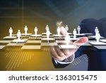 business administrator...   Shutterstock . vector #1363015475