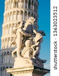 fontana dei putti and leaning... | Shutterstock . vector #1363023512