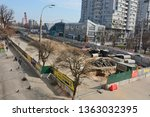 kyiv  ukraine   april 8  2019 ... | Shutterstock . vector #1363032395
