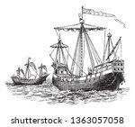 this illustration represents... | Shutterstock .eps vector #1363057058