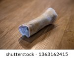 dog bone on floor wood panel... | Shutterstock . vector #1363162415