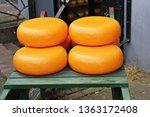 Big Round Cheese At Amsterdam...