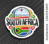 logo for south africa country ... | Shutterstock . vector #1363191845