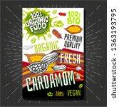 food labels stickers set...   Shutterstock .eps vector #1363193795