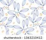 linear vector pattern ... | Shutterstock .eps vector #1363210412