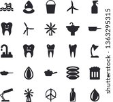 solid vector icon set   faucet...   Shutterstock .eps vector #1363295315