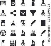 solid vector icon set  ...   Shutterstock .eps vector #1363299125
