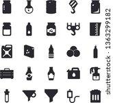 solid vector icon set   hook...   Shutterstock .eps vector #1363299182