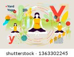 vector concept illustration   ... | Shutterstock .eps vector #1363302245