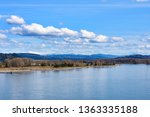calm day at beautiful columbia... | Shutterstock . vector #1363335188