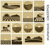 Agriculture field - stock vector