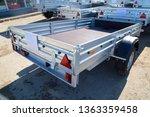 open car trailer. shop selling... | Shutterstock . vector #1363359458