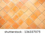 The Square Clay Floor Tile...