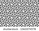 abstract geometric pattern. a... | Shutterstock .eps vector #1363374578