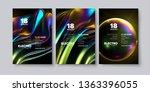electronic music festival... | Shutterstock .eps vector #1363396055