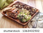 authentic middle eastern veal... | Shutterstock . vector #1363432502