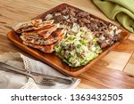authentic middle eastern veal... | Shutterstock . vector #1363432505