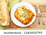 home made italian baked cheese... | Shutterstock . vector #1363433795
