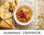 traditional polish sauerkraut... | Shutterstock . vector #1363434128
