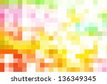 abstract vector texture for... | Shutterstock .eps vector #136349345