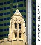 Small photo of Perth, Western Australia / Australia - February 10 2019 : Pert City Architecture, Towers.