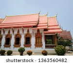 architecture in thai temples ... | Shutterstock . vector #1363560482
