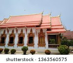 architecture in thai temples ... | Shutterstock . vector #1363560575
