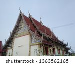 architecture in thai temples ... | Shutterstock . vector #1363562165
