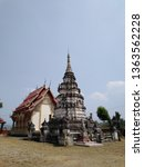 architecture in thai temples ... | Shutterstock . vector #1363562228