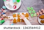 flat lay. step by step.... | Shutterstock . vector #1363564412