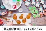 flat lay. step by step.... | Shutterstock . vector #1363564418