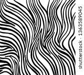 brush grunge pattern. white and ... | Shutterstock .eps vector #1363589045