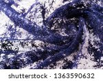 texture  pattern  lace blue on...   Shutterstock . vector #1363590632