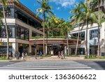 honolulu  hawaii   march 31 ... | Shutterstock . vector #1363606622