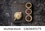 tea ceremony concept  chinese... | Shutterstock . vector #1363645175