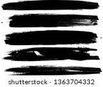 grunge paint roller . vector... | Shutterstock .eps vector #1363704332