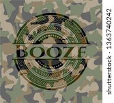 booze on camouflage texture | Shutterstock .eps vector #1363740242