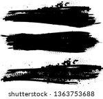 grunge paint roller . vector... | Shutterstock .eps vector #1363753688