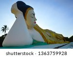 the supported head of the... | Shutterstock . vector #1363759928