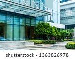 modern architectural city... | Shutterstock . vector #1363826978