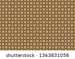 seamless horizontal borders... | Shutterstock . vector #1363831058