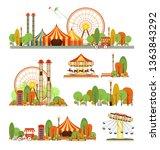 set of vector design elements... | Shutterstock .eps vector #1363843292