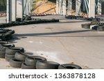 go kart racetrack circuit.... | Shutterstock . vector #1363878128
