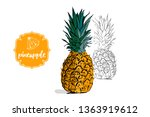 cartoon whole colorful... | Shutterstock .eps vector #1363919612