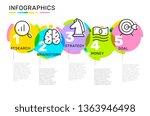 vector infographic template... | Shutterstock .eps vector #1363946498