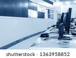 modern plant control room and...   Shutterstock . vector #1363958852